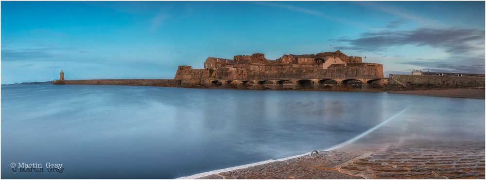 'The Castle'... Castle Cornet looking resplendent at the end of the day....