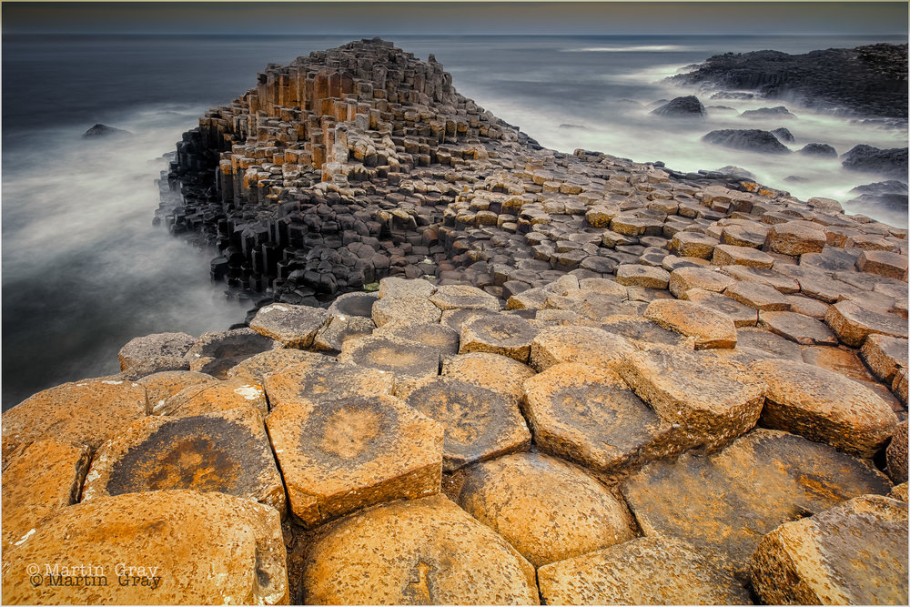 'Stepping Stones'... The Giants Causeway on Northern Ireland's North Coast...