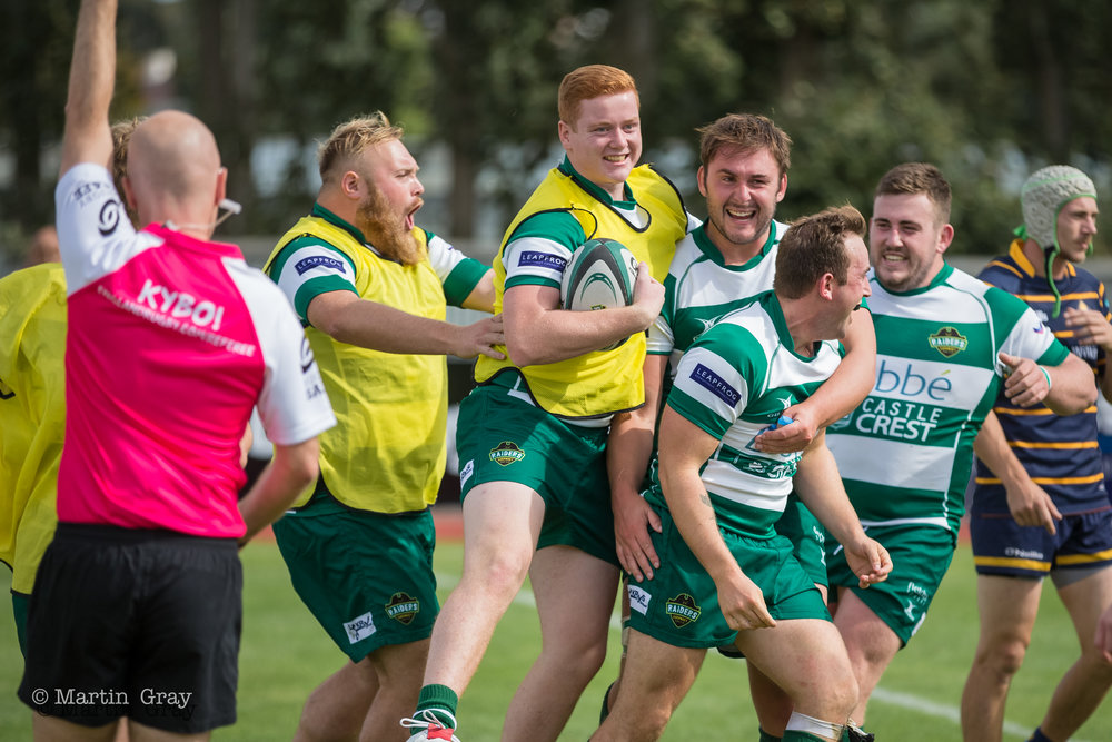 Guernsey Raiders v Worthing Raiders played at Footes Lane 8th Sept 2018... Worthing win 26-35...