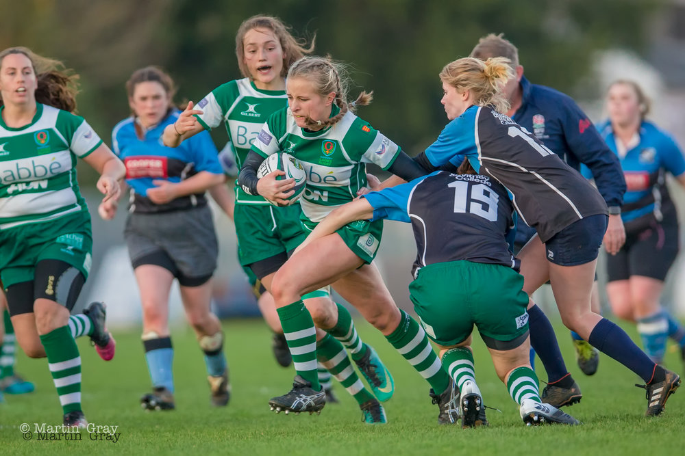 Guernsey Ladies v Witney Ladies played at Footes Lane 9th December 2018… GLR win…