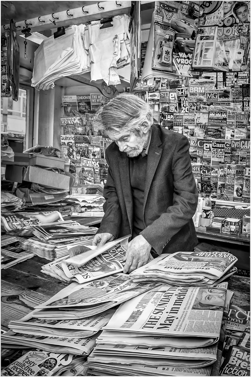 'Read all about it' …    Guernsey Eisteddfod 2019 Print Portrait Winner…    Wessex Dragons Exhibition 2019 - Mono People Acceptance…