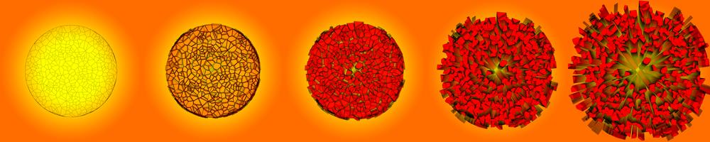 exploding Voronois