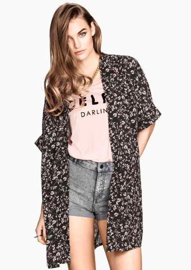 Kimono à motif - H&M
