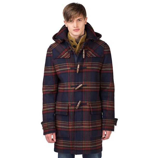Duffle Coat à carreaux Tommy Hilfiger 449€