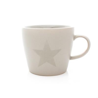 Mug céramique étoile grise -  Bloomingville - 7,50e