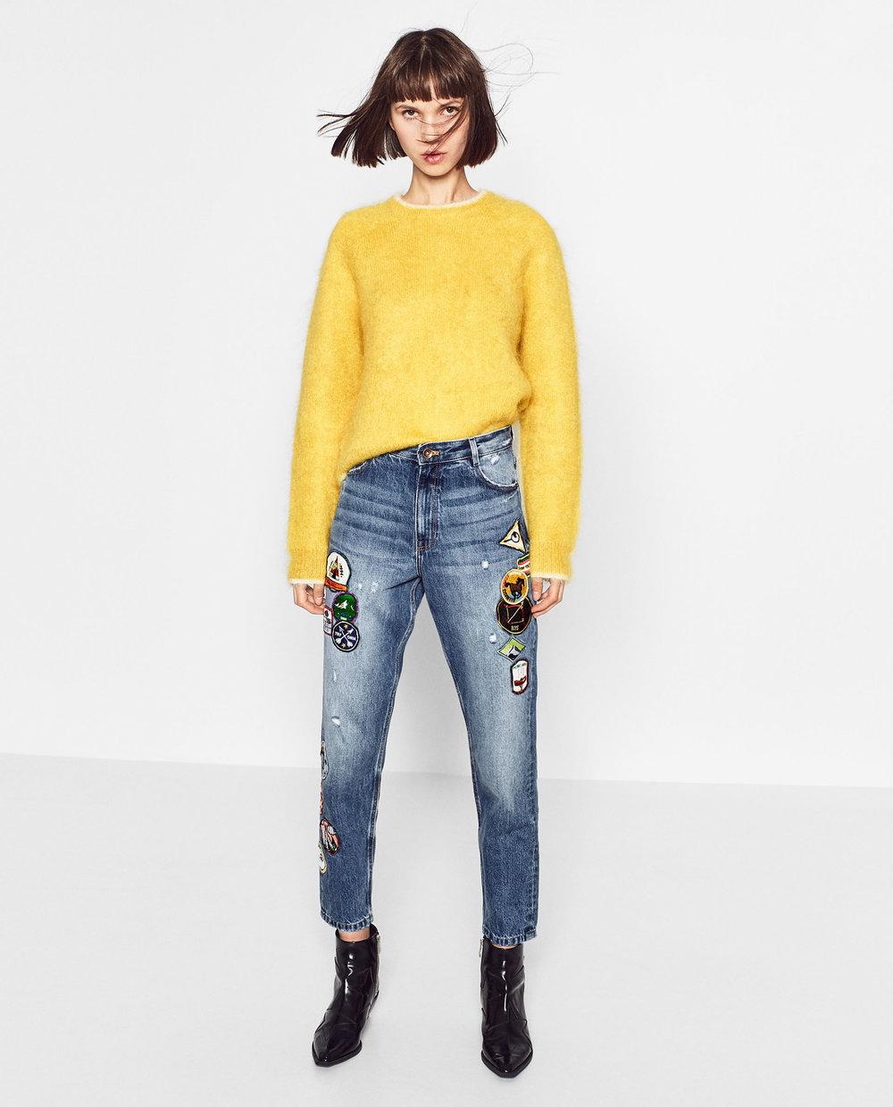 Jean Cropped Zara 45,95€