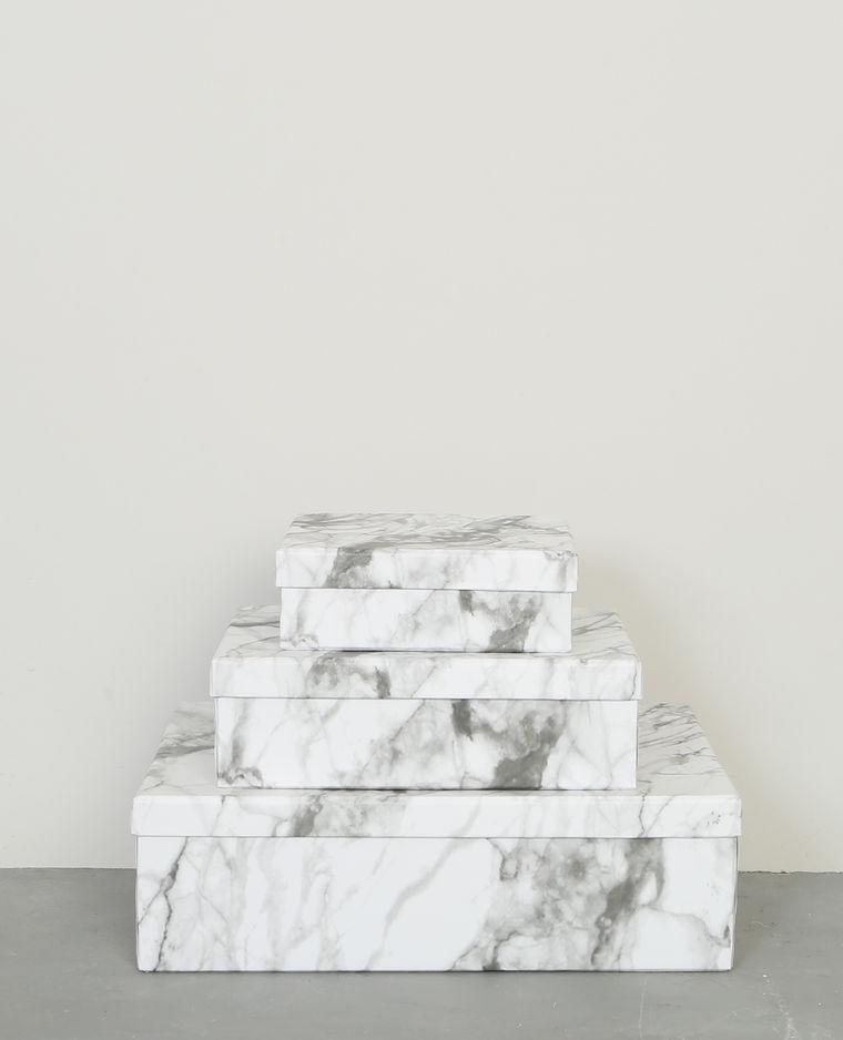 Boîtes en marbre Pimkie 9,90€
