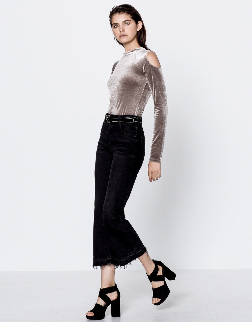 Body en velours Pull&Bear 19,99€