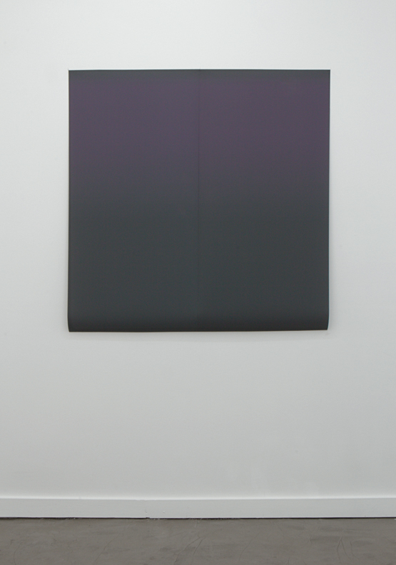"Gradient 07  inkjet print on backlit film two panels 24""x48"""