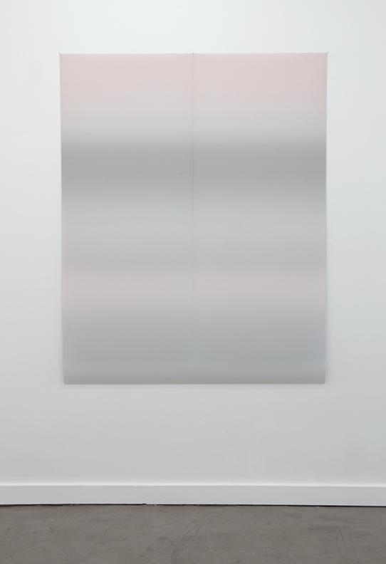 "Gradient 08  inkjet print on backlit film two panels of 24""x60"""