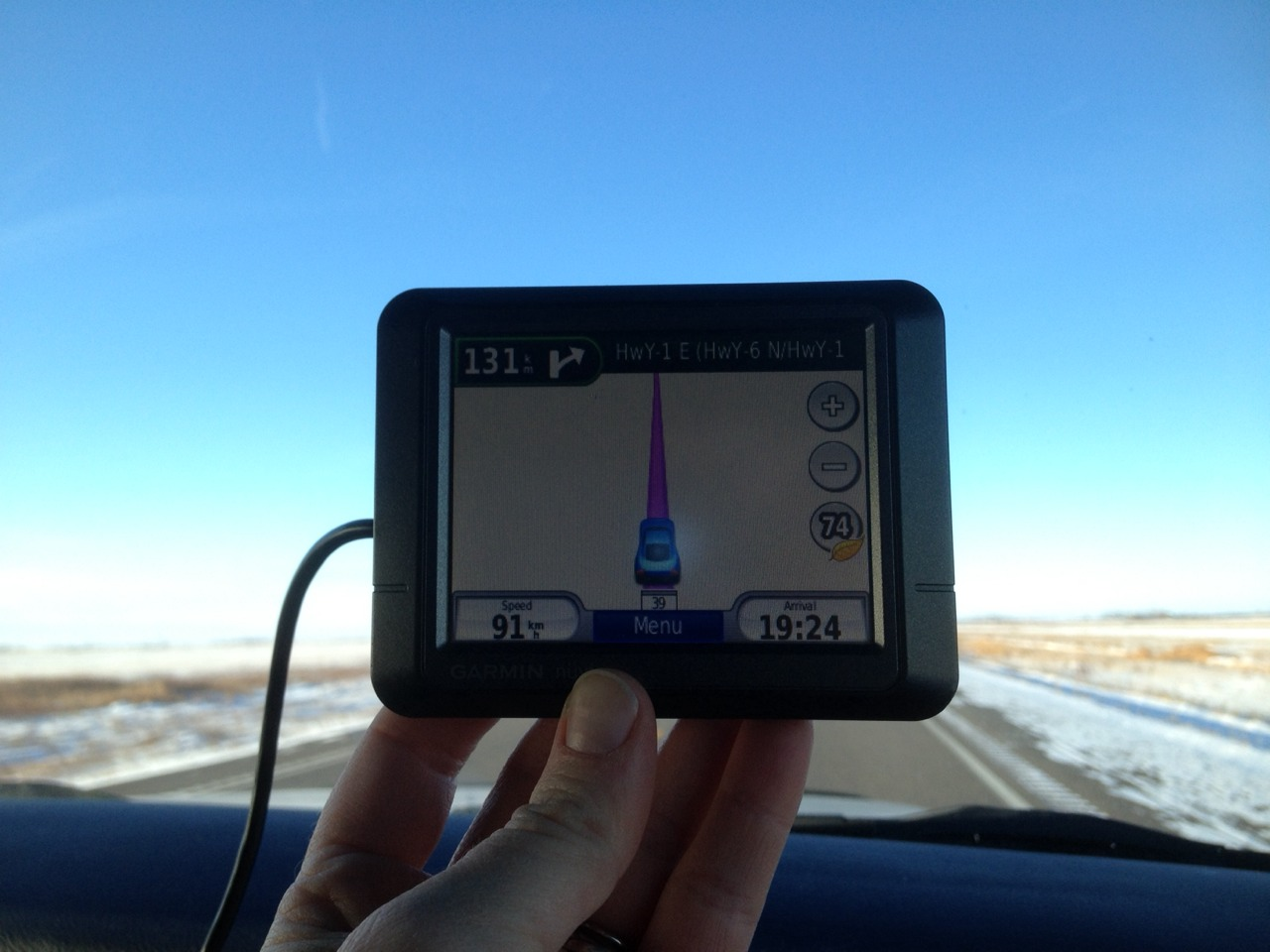 Our first view of Saskatchewan.