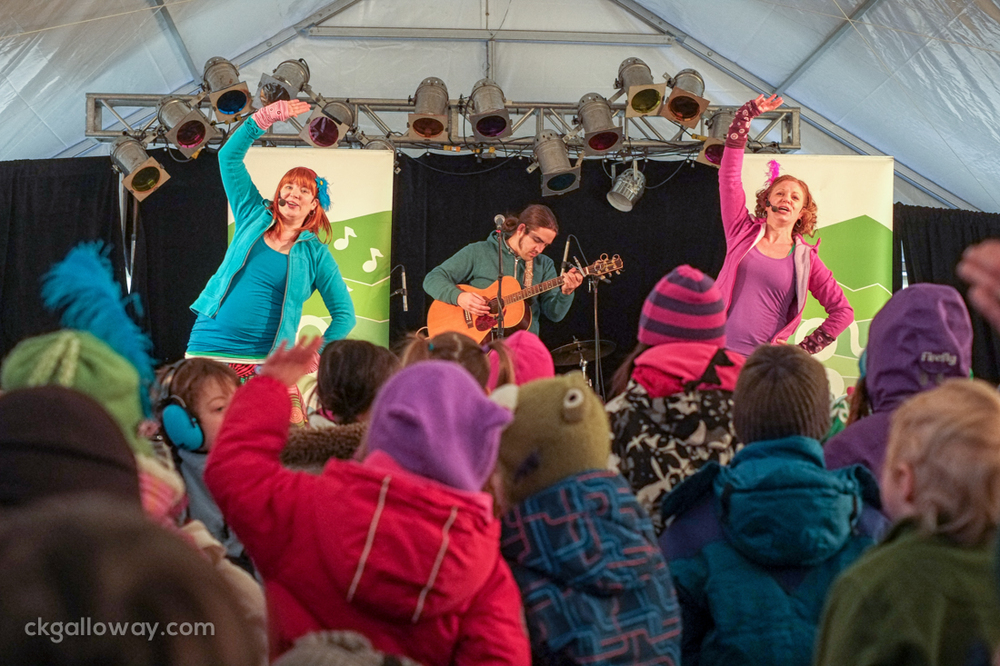 Bobs & LoLo performing at the Yukon Sourdough Rendezvous on February 23rd, 2014. Photo by Christa Galloway.