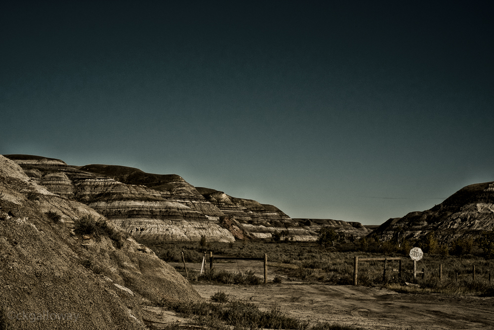 A trail near the hoodoos.  Photo by Christa Galloway.