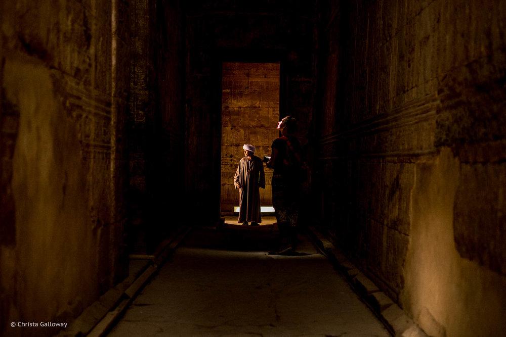 Hallway at Edfu