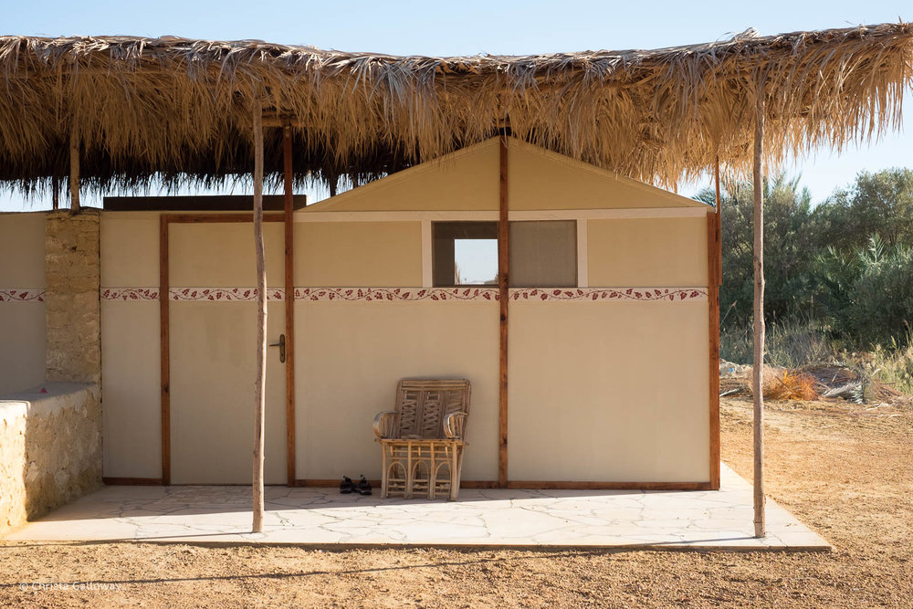 Our room at Talist Ecolodge and Farm in Siwa, Egypt.