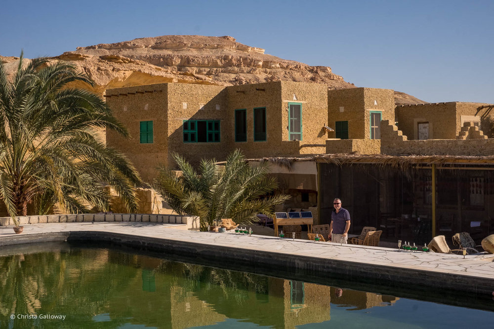 The  Talist Ecolodge and Farm  in Siwa, Egypt.
