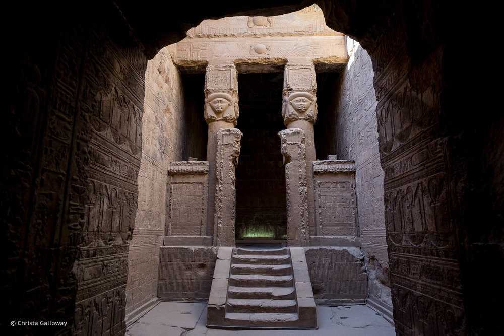 Temple of Hathor, Dendara, Qena, Egypt