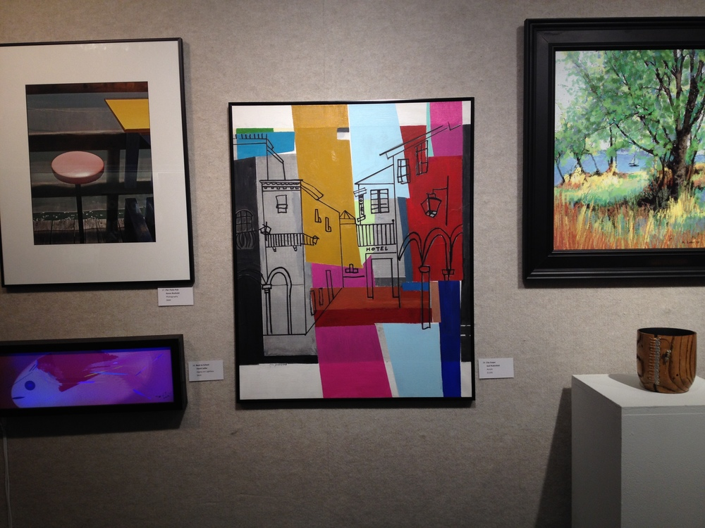 Cityscape on view at Art Center Sarasota