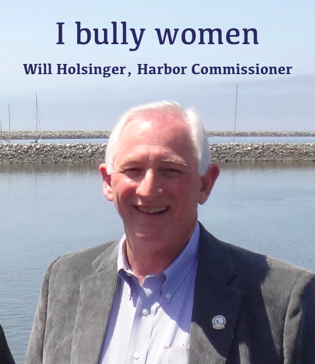 William-Holsinger-harbor-commissioner-bully-Jim-Tucker-Robert-Bernardo