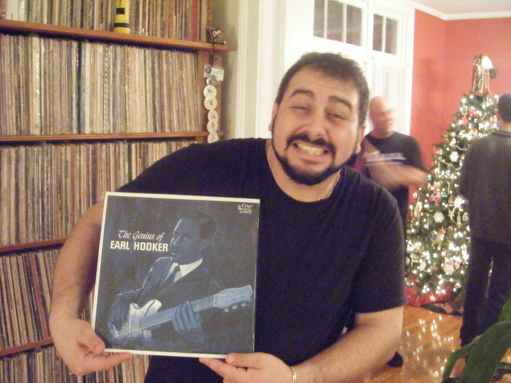 Mikey with Rare Earl Hooker $$Record$$.jpg