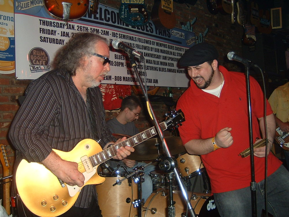 Rum Boogie with Bob Margolin Memphis, TN 2006.jpg