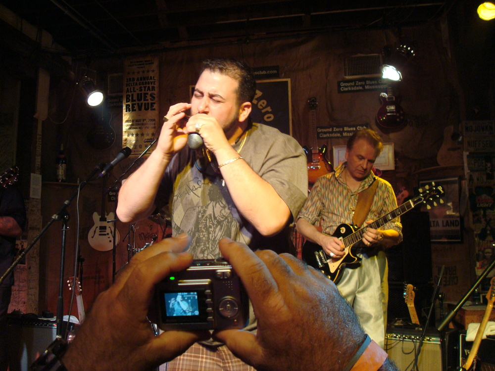 2008 Delta Groove Blues Revue at Ground Zero in Clarksdale, MS Pic 1.JPG