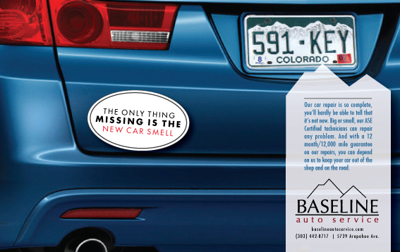 Baseline Automotive Ad