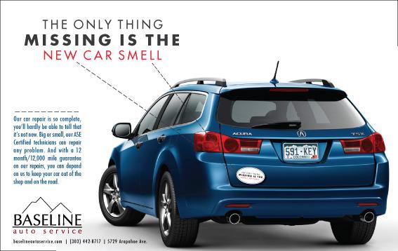 Baseline Automotive Ad