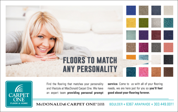 Carpet One Ad