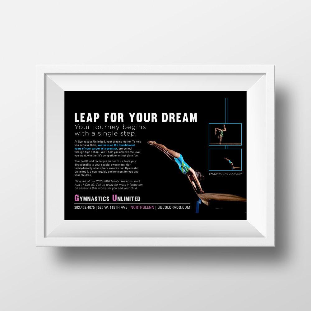 Gymnastics Unlimited Ad