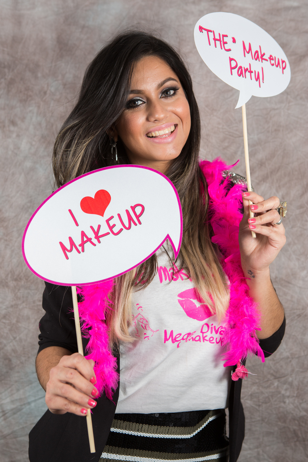 from The Makeup Party photo booth session