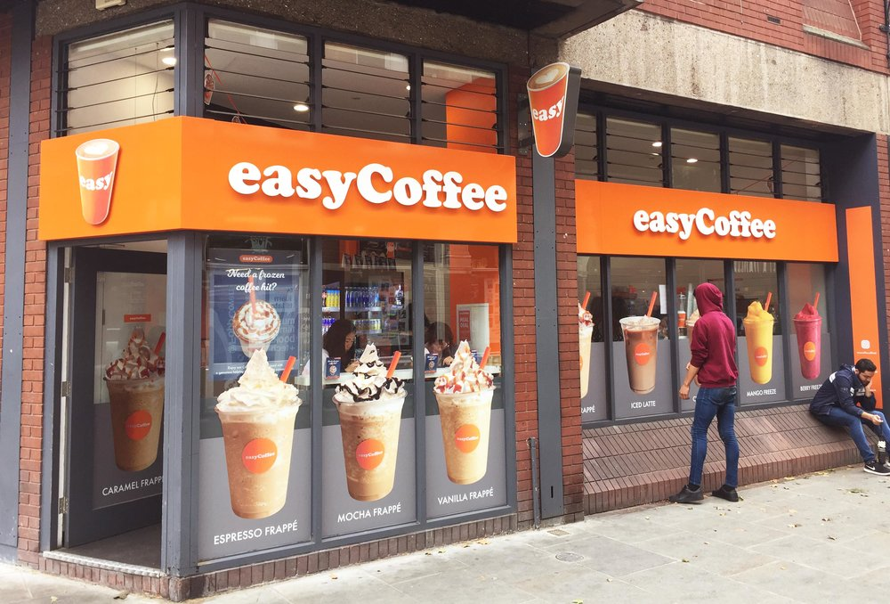 easyCoffee Covent Garden store