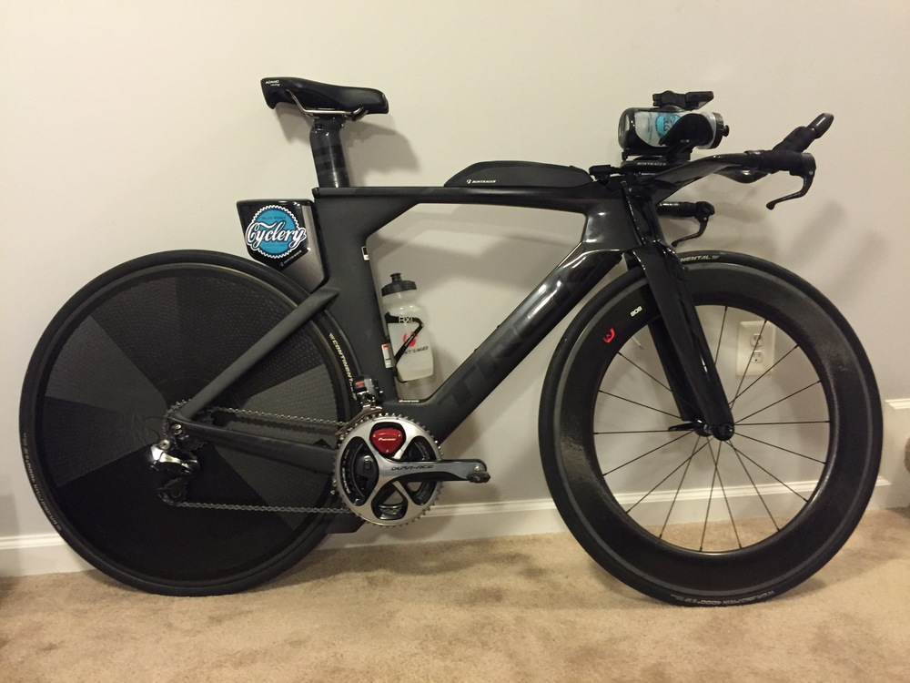 My stealthy Trek Speed Concept 9.9!