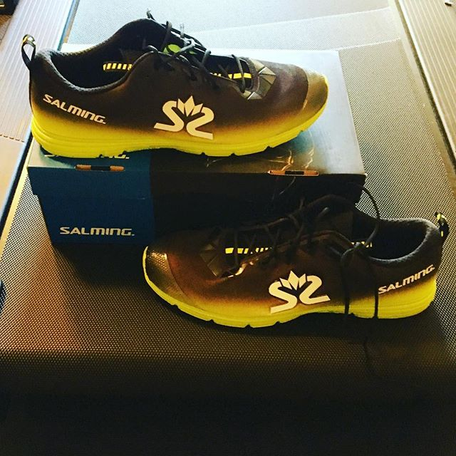 These are some awesome looking and feeling shoes! Thanks @salmingrunningnorthamerica for the opportunity to race with them! #snappletriteam #salming #race #fast #toofast