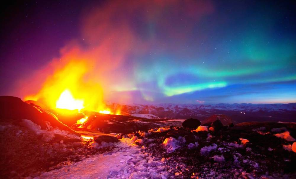 Iceland's Collision of Two Worlds by Savannah Cox