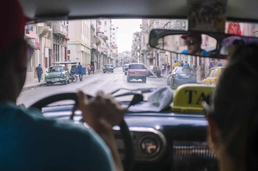 La Havana vieja, first view