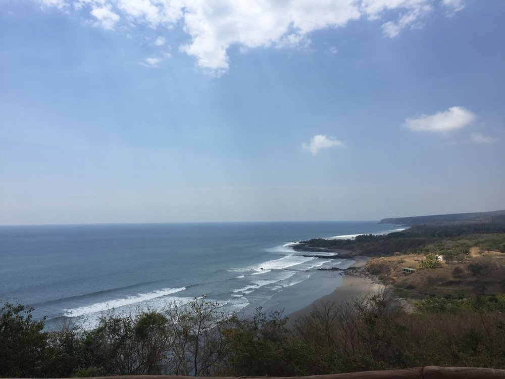 Endless surf possibilities in South El Salvador