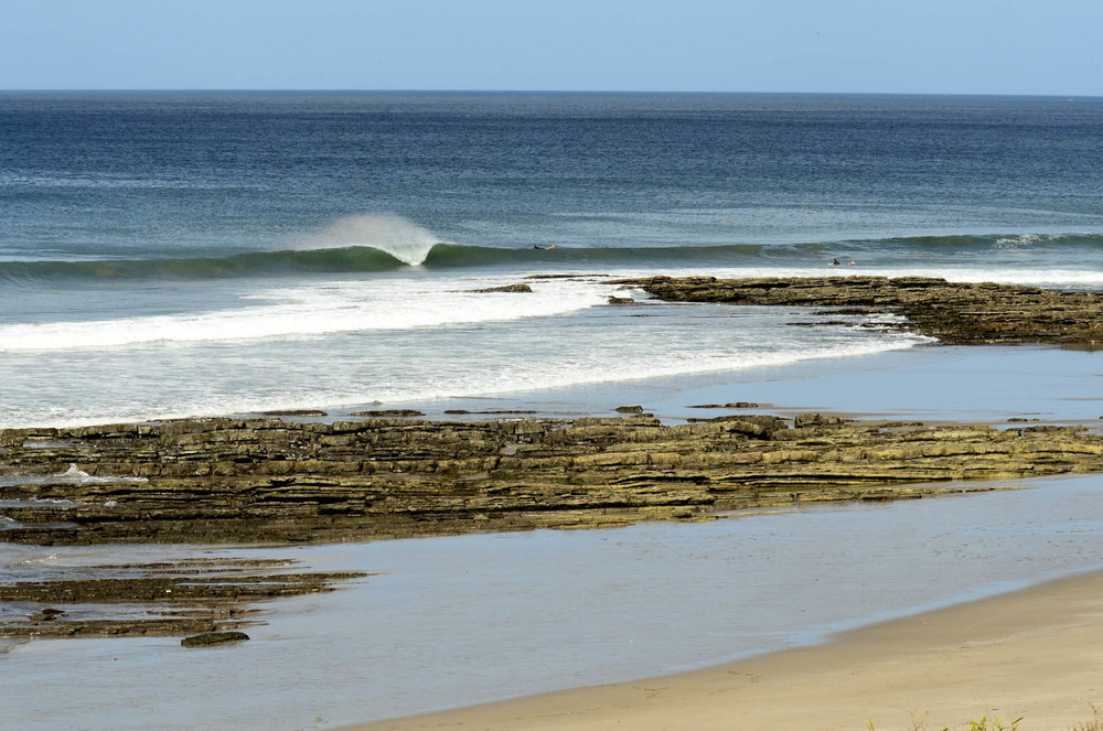Shallow reefs and perfect A frames