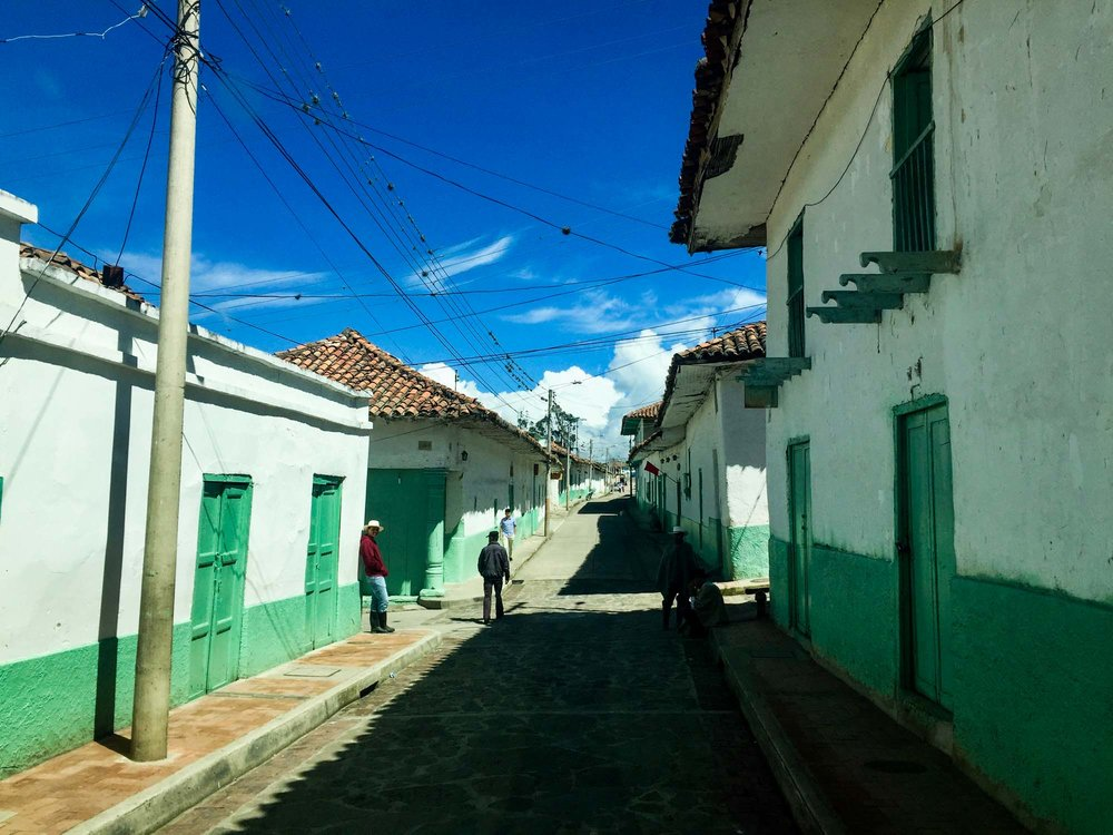 The pretty town of Cocuy