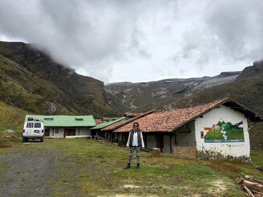 Camping alone at Posada de la Sierra Nevada