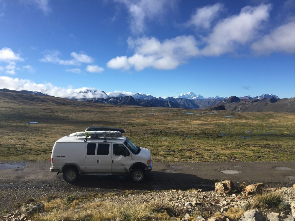 Surrounded by Cordillera Blanca on one side and Cordillera Negra on the other