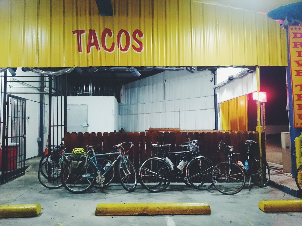 A few bikes from our Taco Tuesday ride.