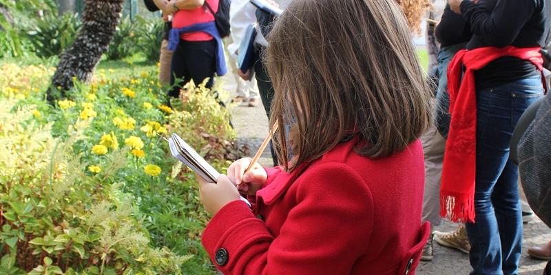 Uma visita ao jardim pelo olhar de uma criança