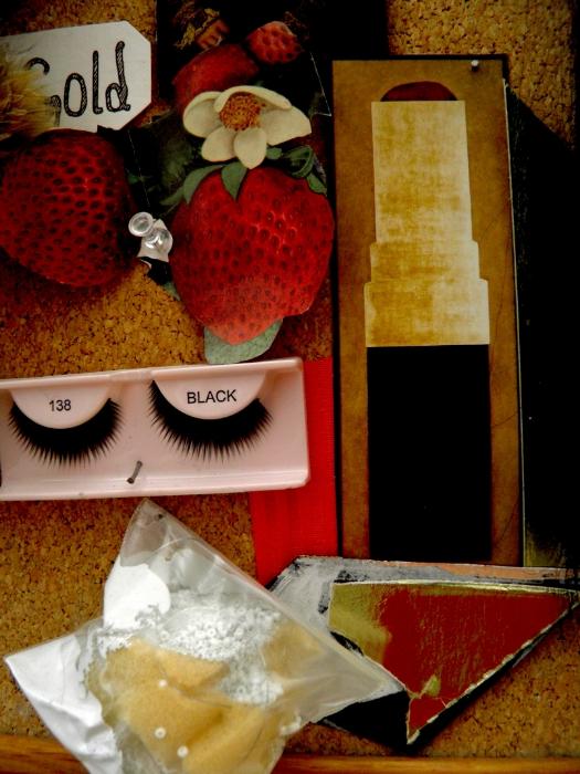 black lash backlash  Marija Dragolovic and old seed catalog clippings