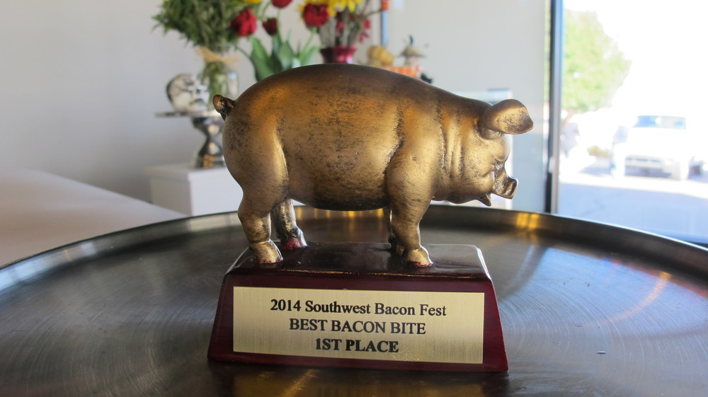 We won the 2014 Southwest Bacon Cook/Bake-Off Competition!!!