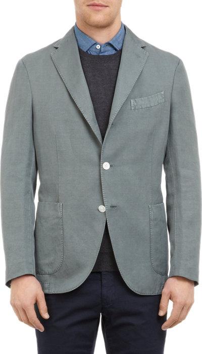 Herringbone Sportcoat by Boglioli