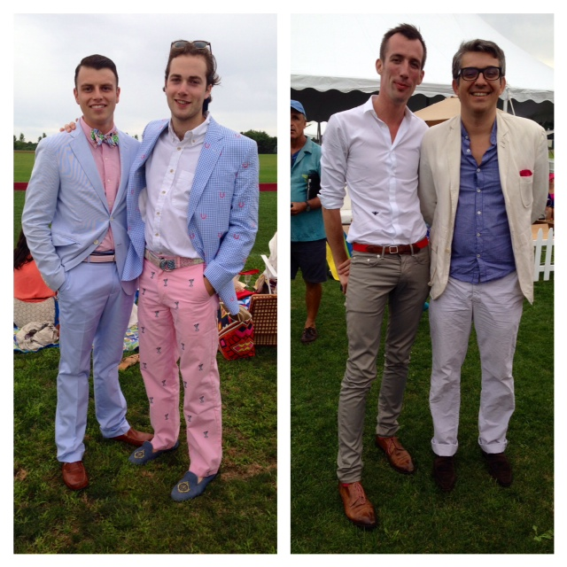 These guys on the left were fun and sure made a statement but I favor clean, simple, more subtle summer styles.