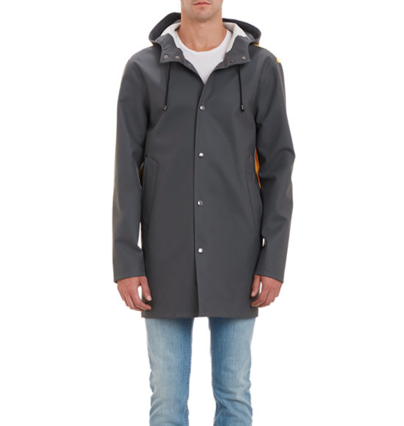Stutterheim Stockholm Raincoat, $445