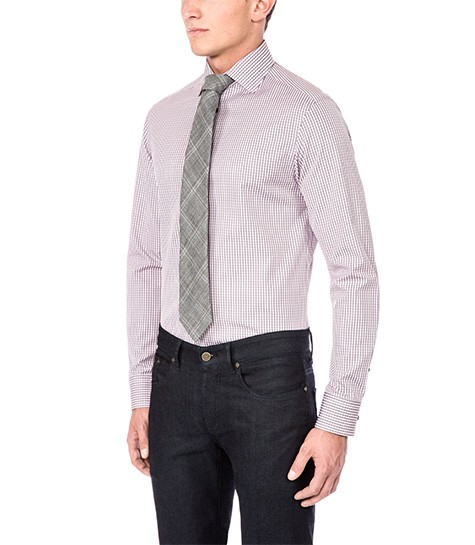 A Boga check shirt will help you keep your cool in the office