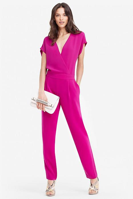 Everyone needs at least one jumpsuit this spring, www.dvf.com has a style for every body type.